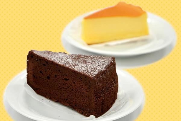 チーズケーキ・ショコラケーキ